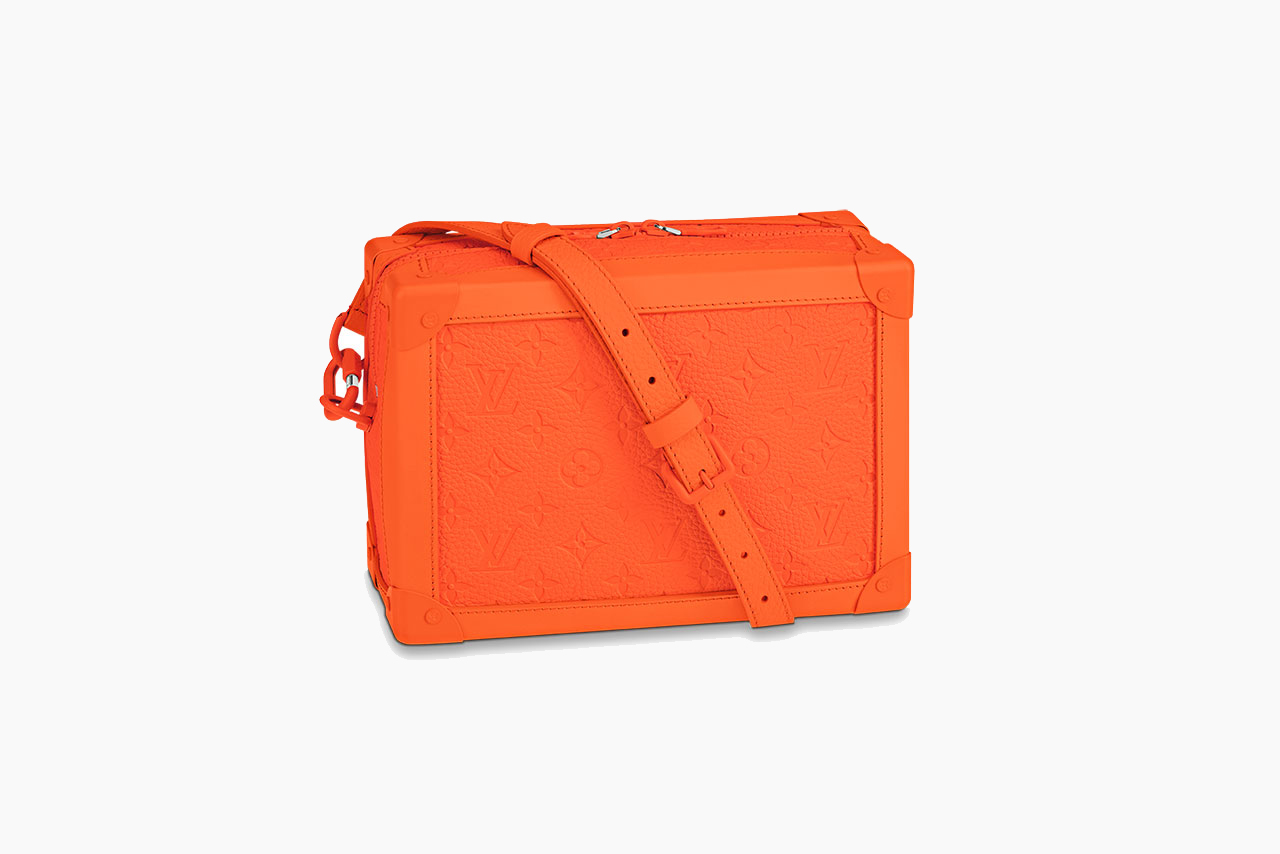 Virgil Abloh and Louis Vuitton for MCA Chicago Orange Capsule