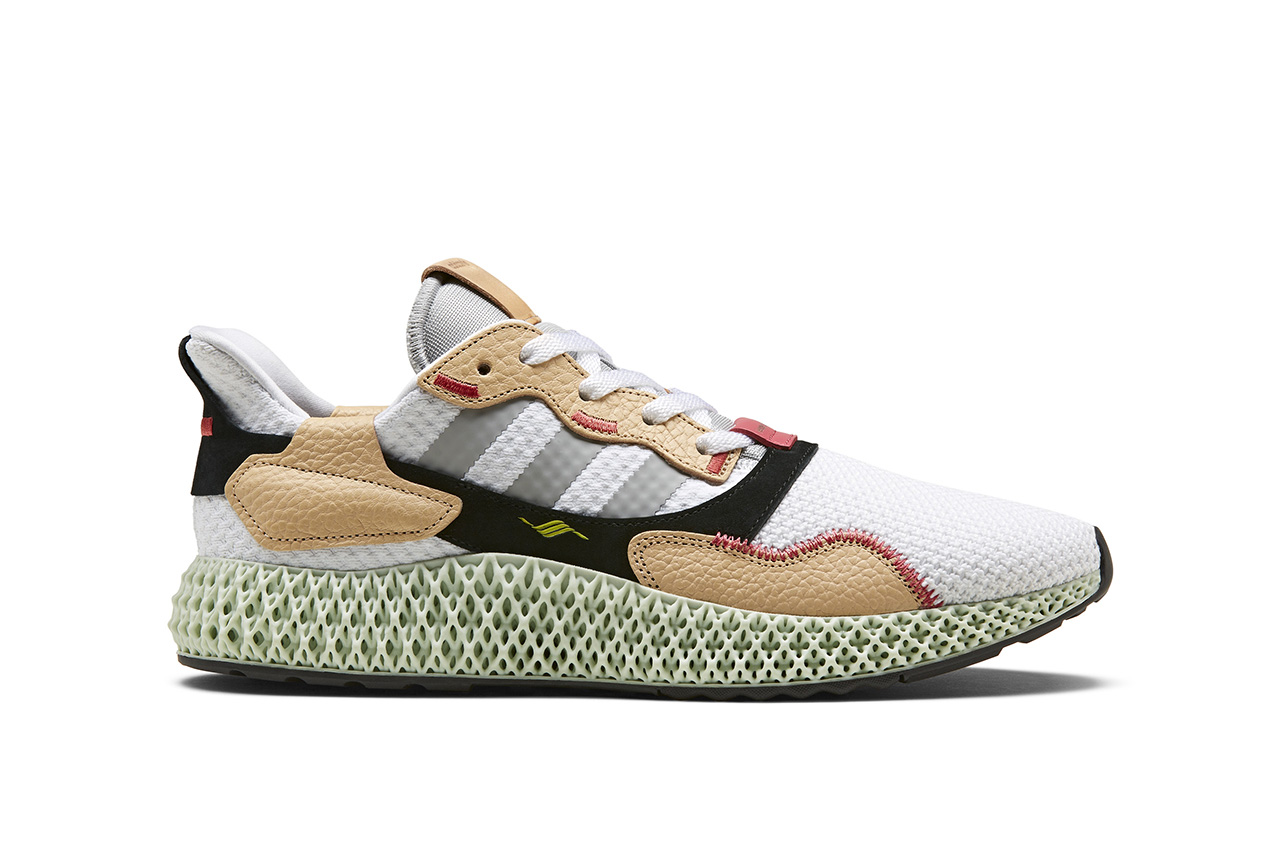 Hender Scheme x adidas Originals ZX 4000 4D Drop release date collaboration june 22 2019 leather