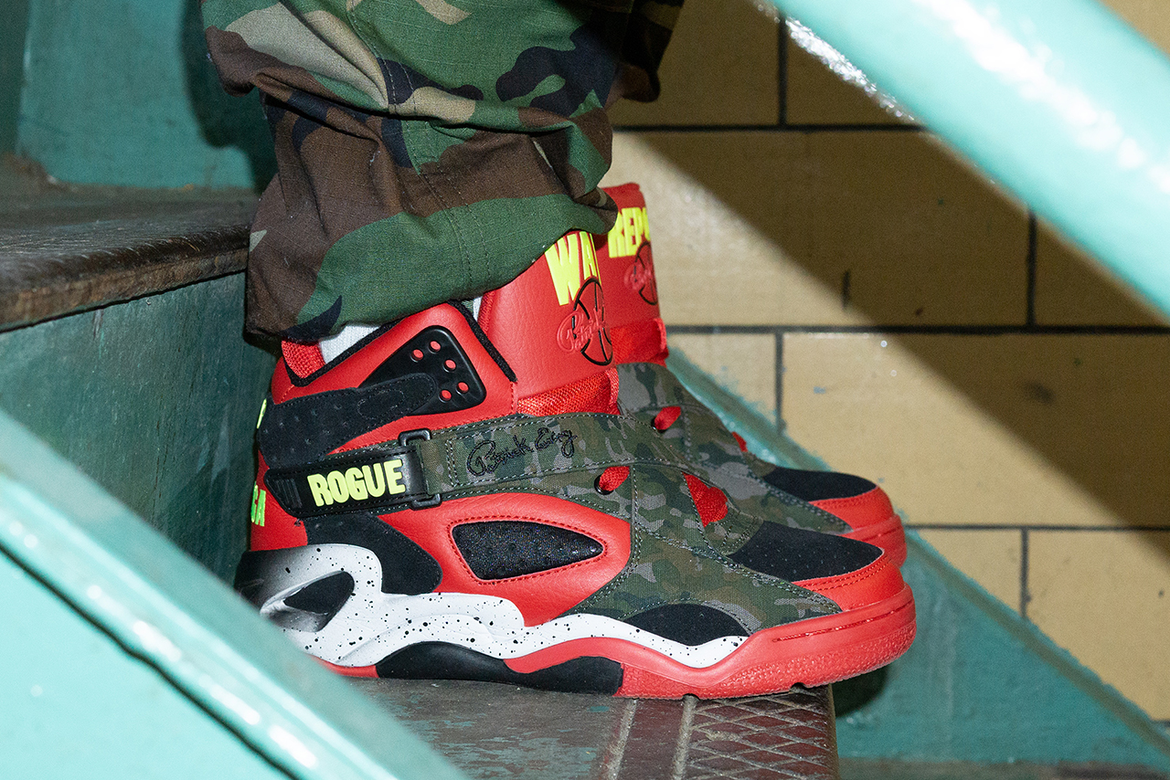 Ewing War Report Rogue Athletics Capone-N-Noreaga Queens New York Rap Duo Hip Hip East Coast Footwear Sneaker Collaboration Drop Date Release Information Event Party Limited Edition