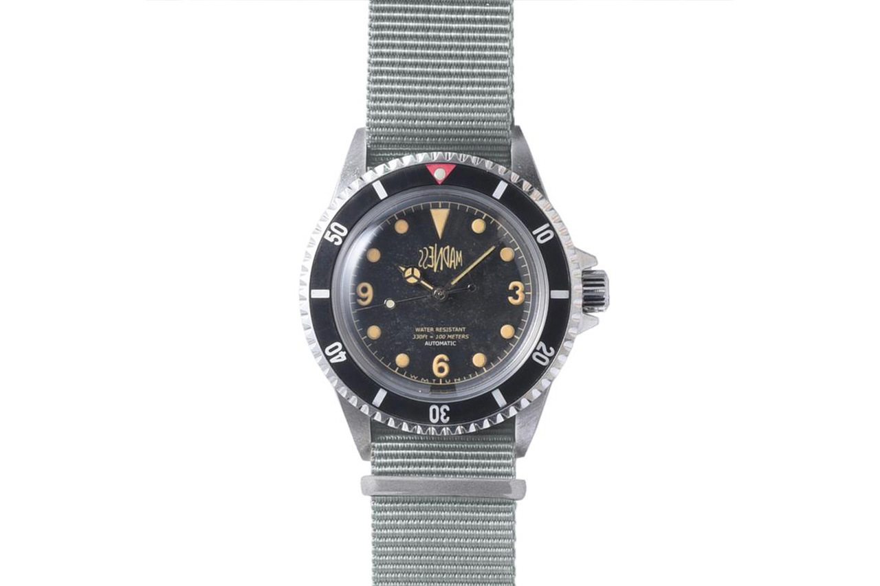 MADNESS x Watch Experimental Unit Collab Release Info Information vintage timepieces shawn yue Royal Marine military Sea Diver AGED/SILVER GED/BLACK MADNESS x Watch Experimental Unit Collab Release Info