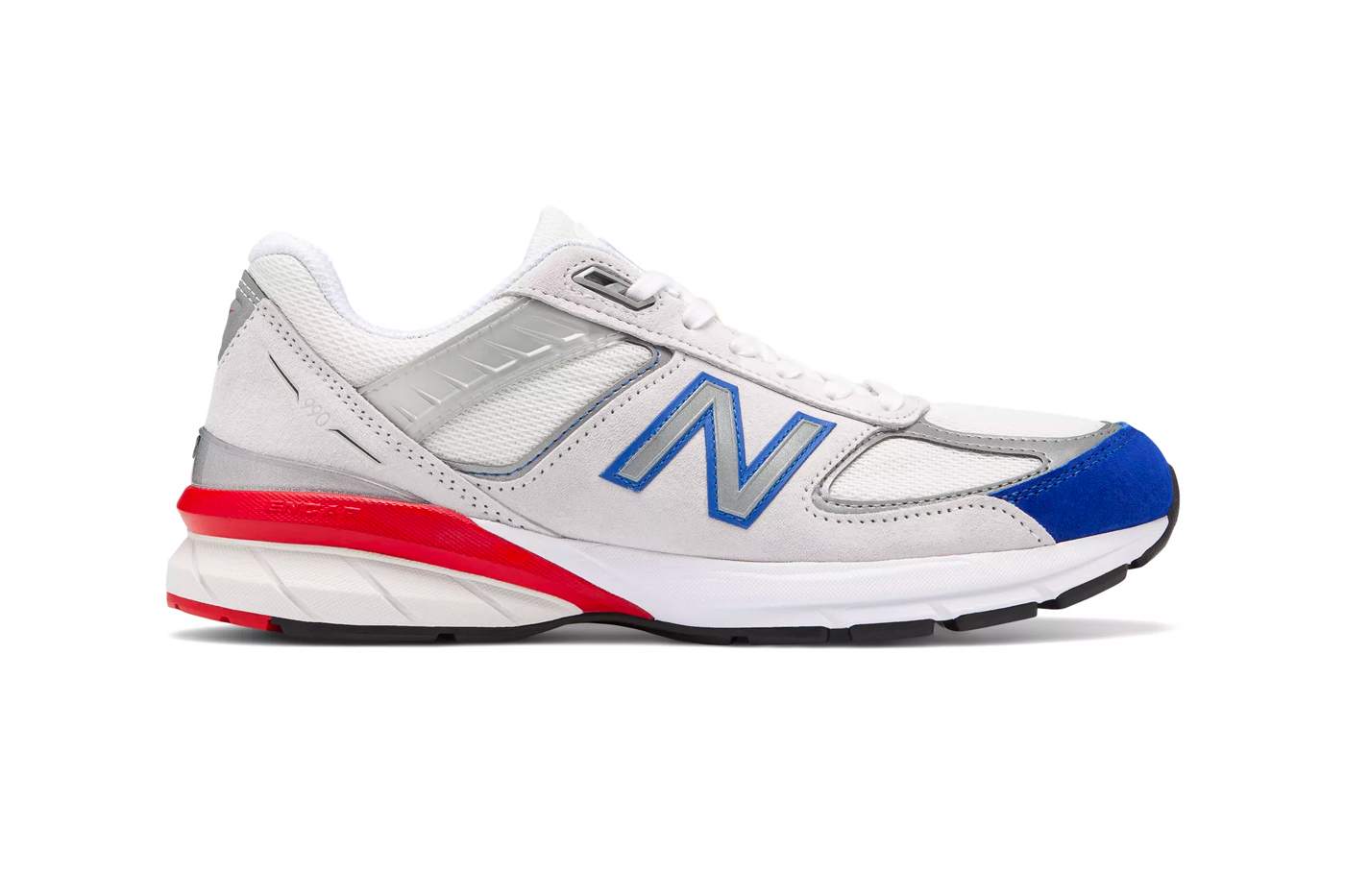 New Balance 990v5 Team Royal Team Red Release made in united states of america US red blue white flag fourth of july independence day