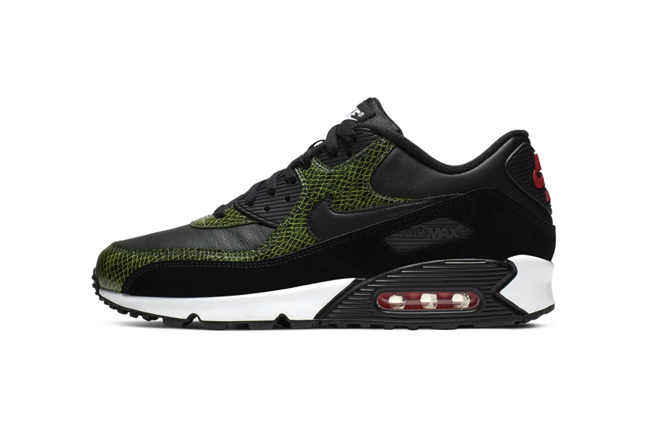 """finest selection 8f3b5 10439 Nike Air Max 90 """"Green Python"""""""