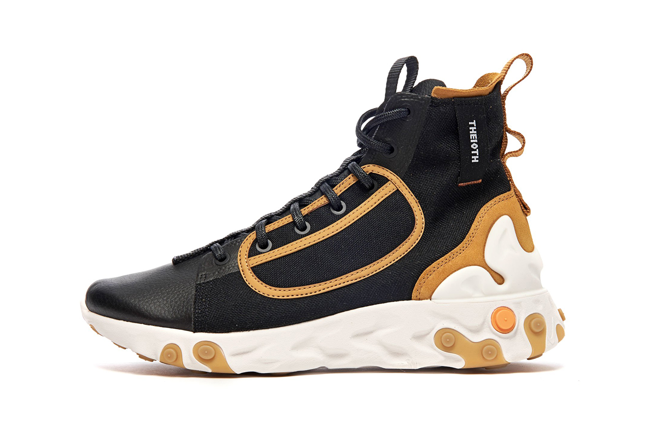 nike react ianga black white wheat phantom colorway sneaker release date september 2019