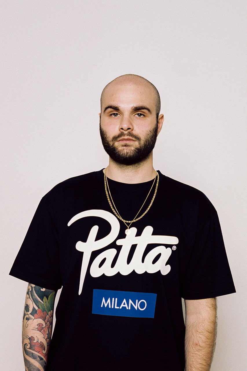 Patta Milano Store Announcement New Collection Script Logo Shirts Air Jordan 7 VII C.P. Company Magazine Denim Suit Lookbook Open Now Italy New Flagship