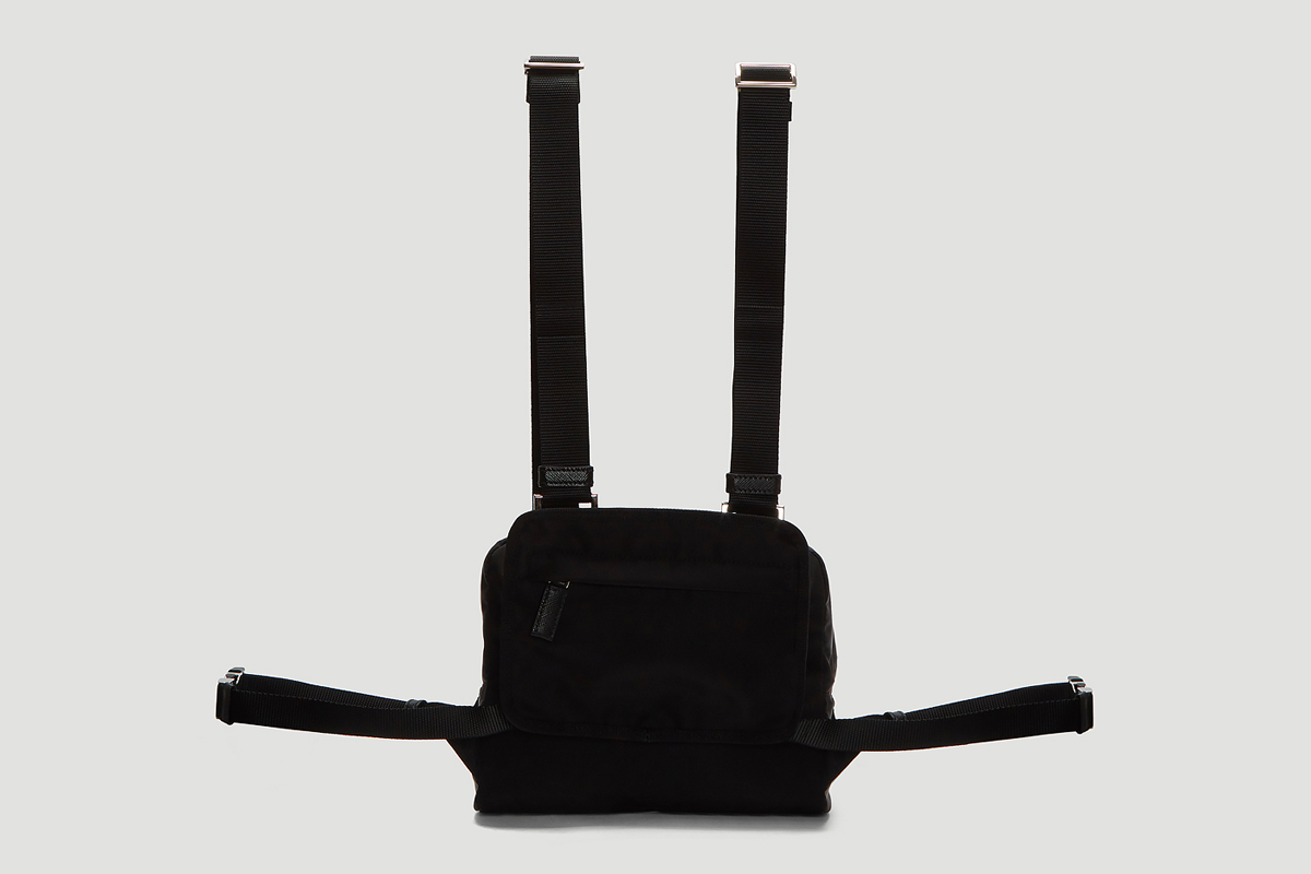 cc5475e073 Prada Black Nylon Harness Bag Release Price Info | HYPEBEAST DROPS