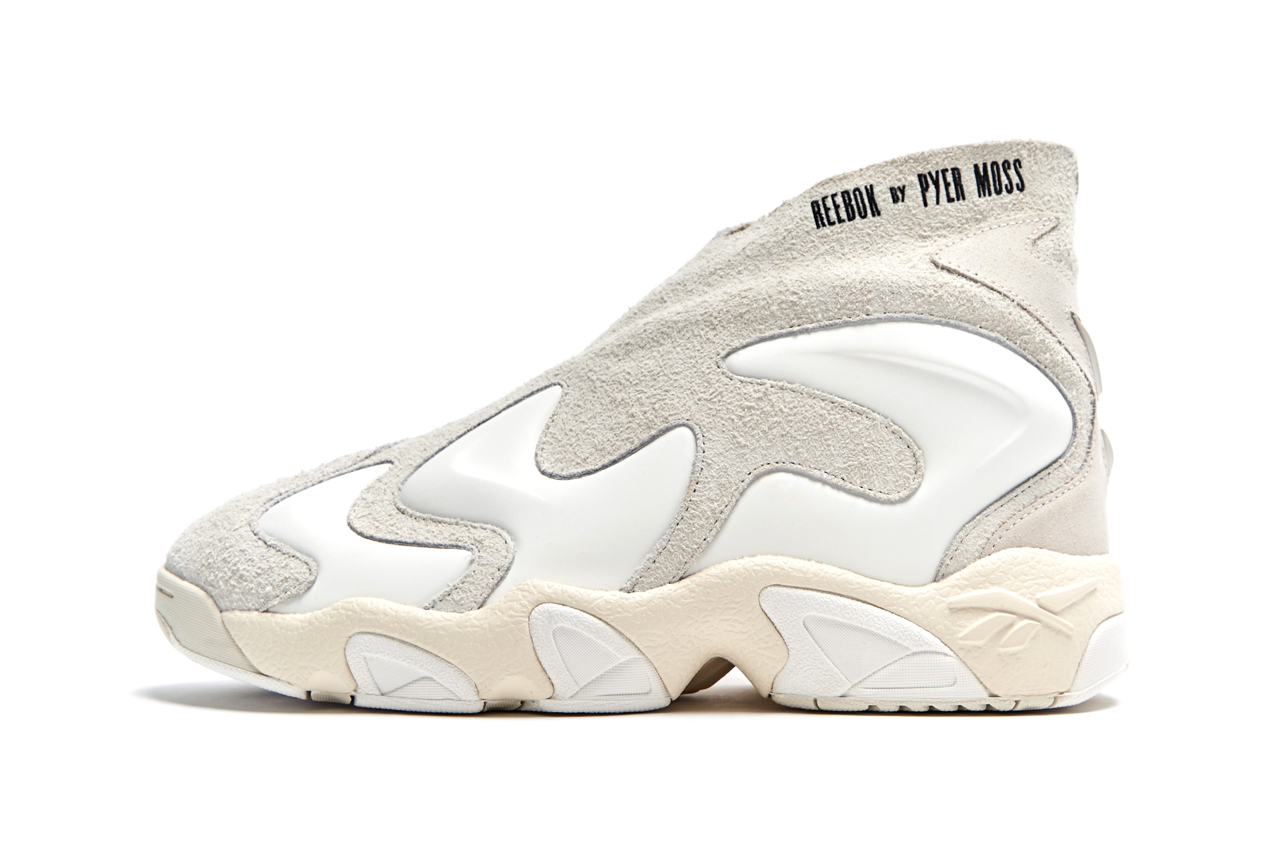 pyer moss reebok experiment 3 triple white colorway release date
