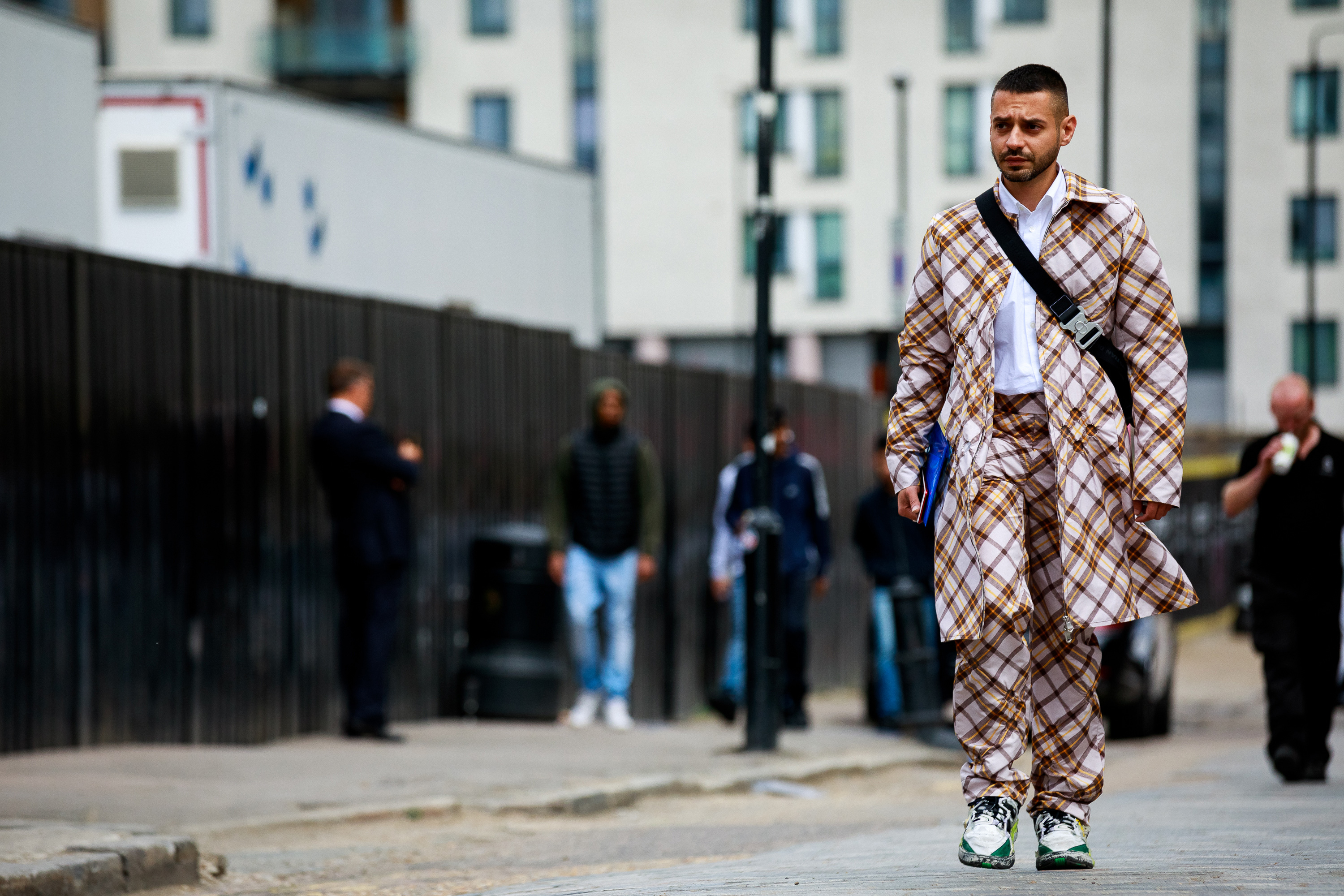 London Fashion Week Men's Spring/Summer 2020 SS20 Street Style Streetsnaps Menswear Photography Missoni Our Legacy Kiko Kostadinov Samuel Ross A-COLD-WALL* ASICS Dries Van Noten