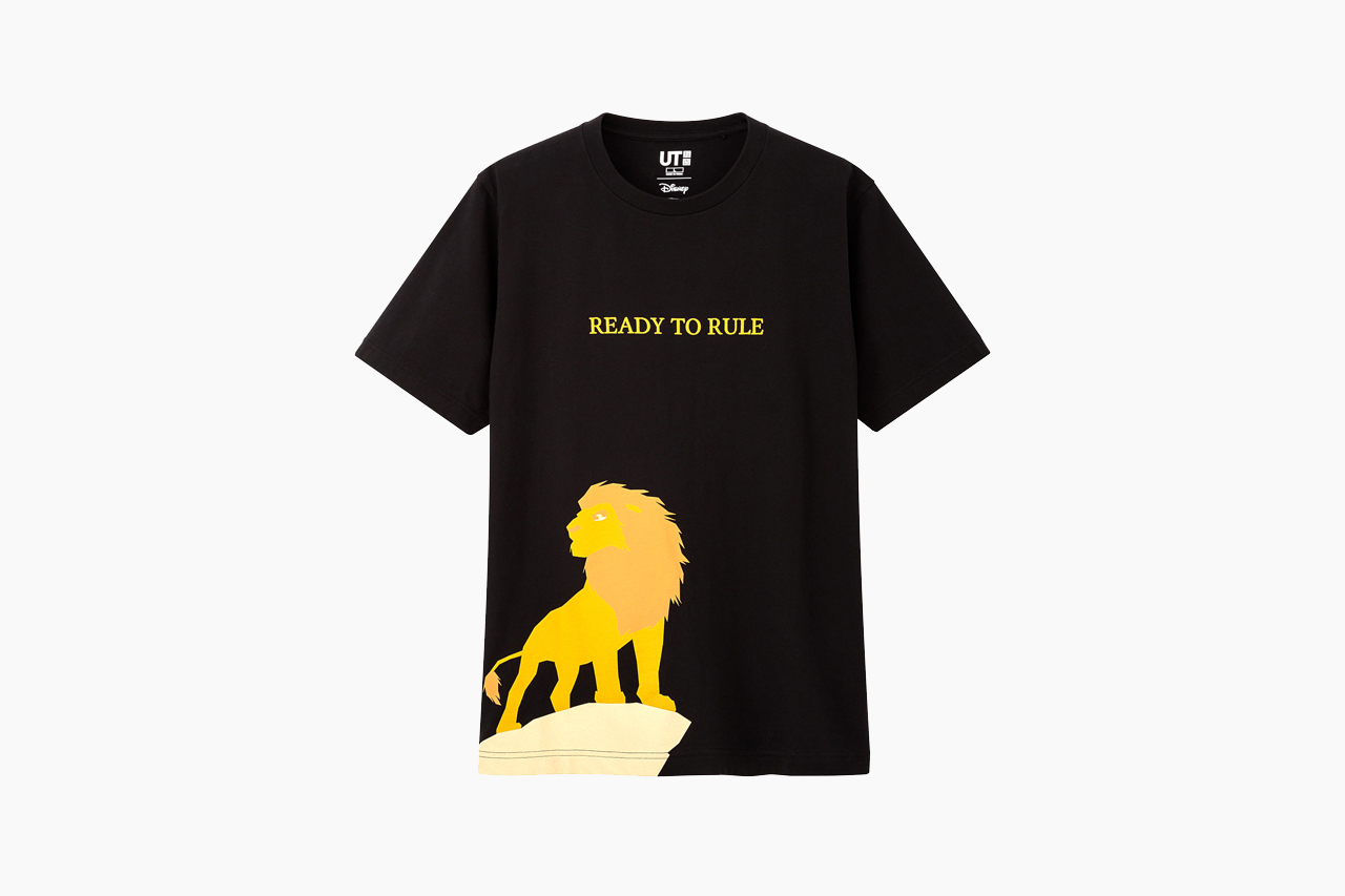 'The Lion King' x UNIQLO UT Summer Collection