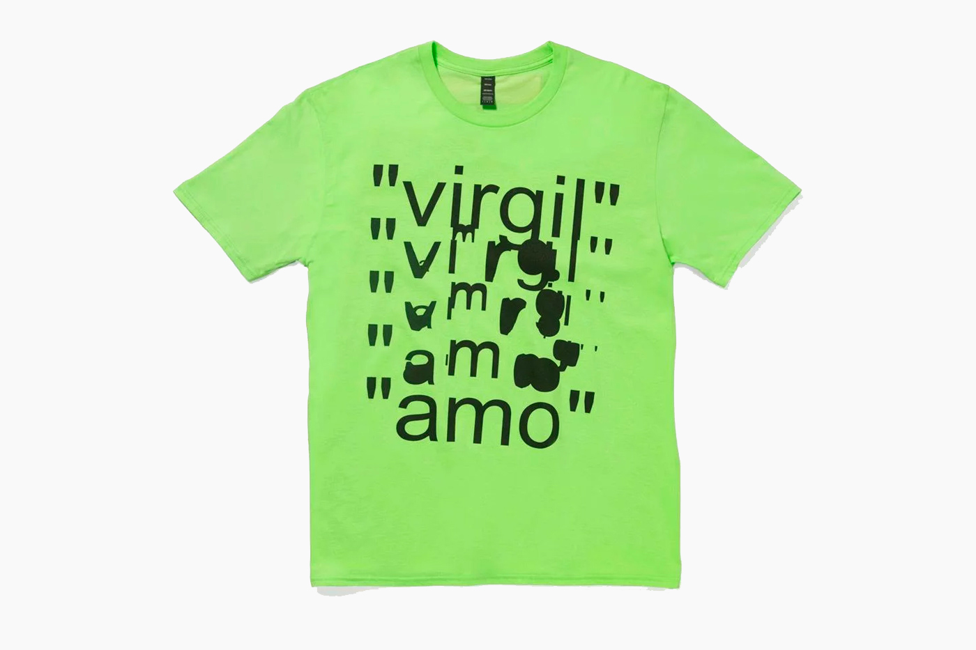 MCA Chicago x Virgil Abloh Neon-Colored Apparel