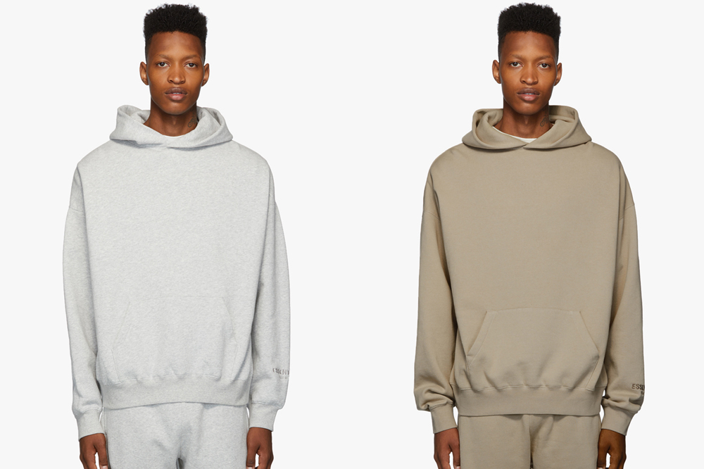 Fear of God ESSENTIALS Taupe Pull-Over Hoodie