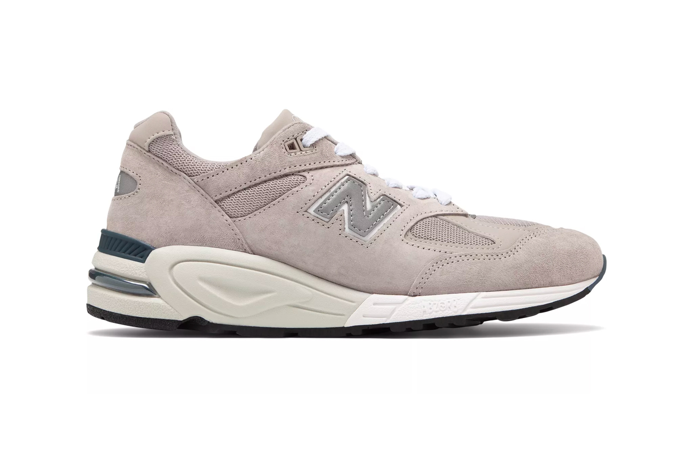 New Balance Made in USA 990v2 Grey with White Release Info 9'X Series Pack