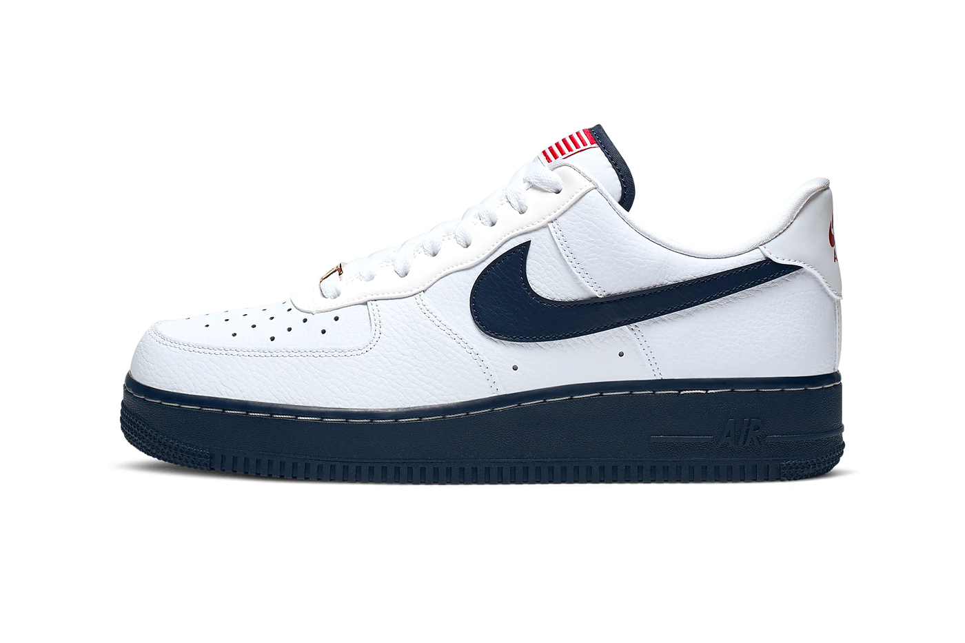 Nike Air Force 1 '07 LV8 USA Flag Release Info CK5718-100