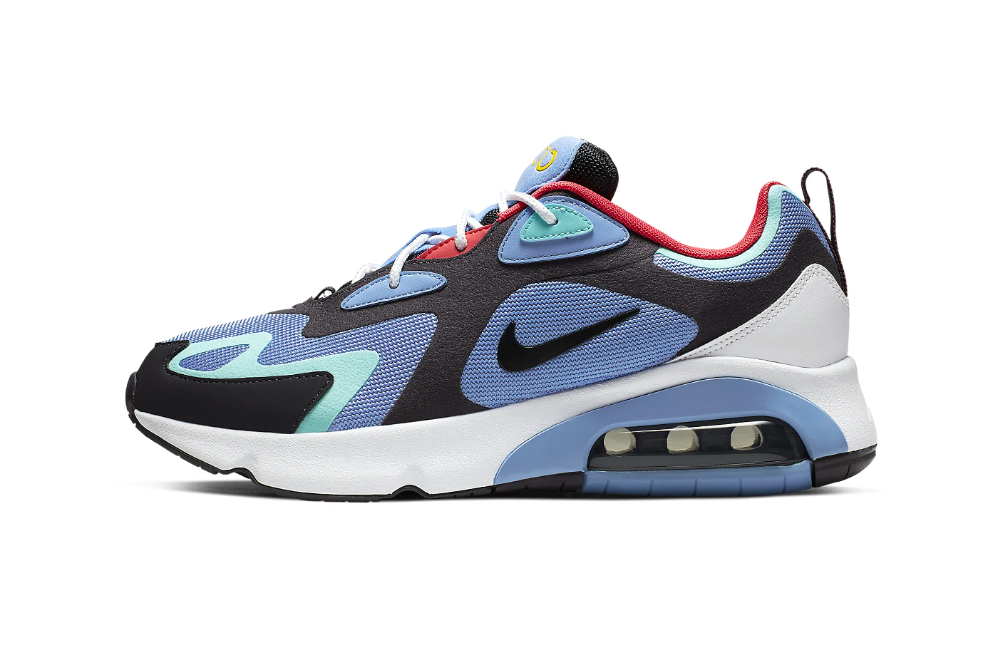 Nike Air Max 200 1992 World Stage Release Info AQ2568-401 blue white red black