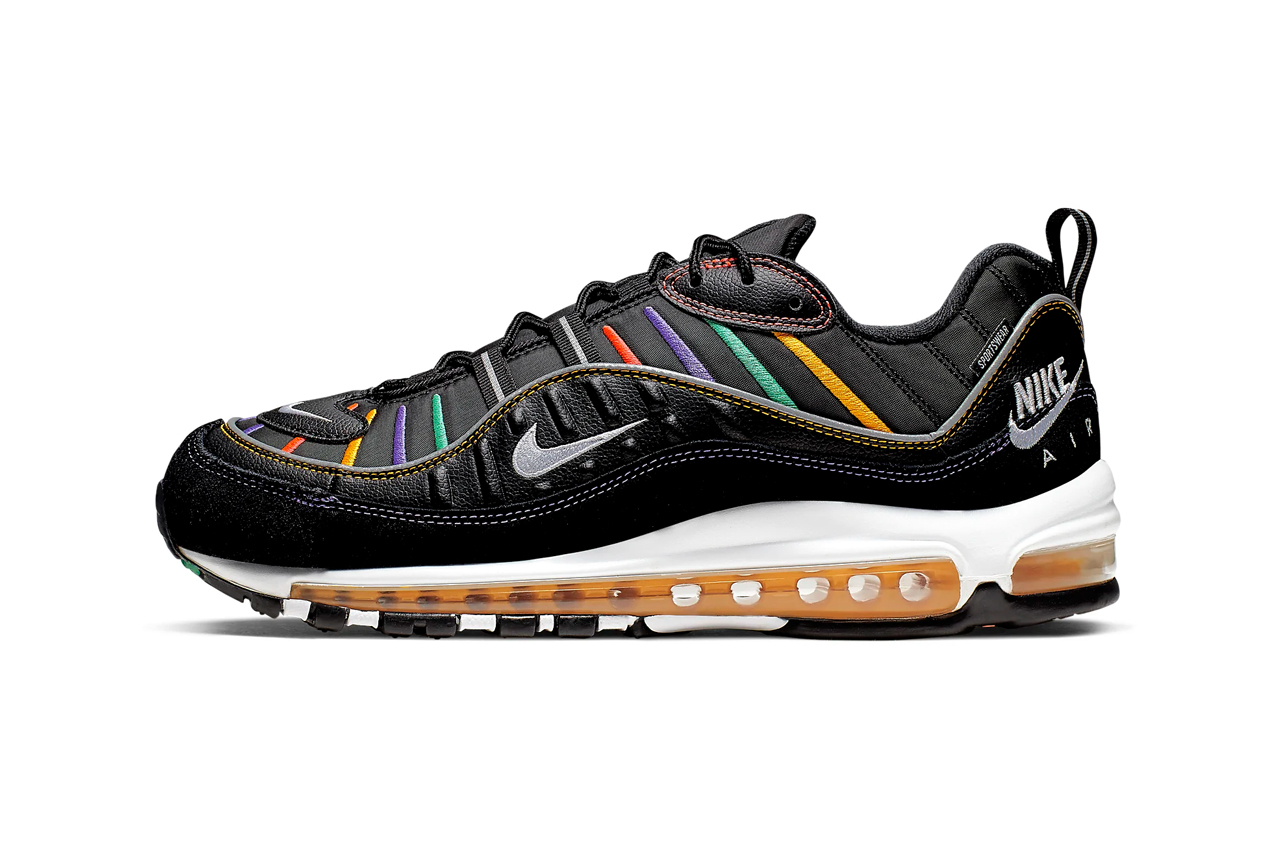 brand new 7066a 7b0e1 Nike Air Max 98 Windbreaker Black, Green Release | HYPEBEAST