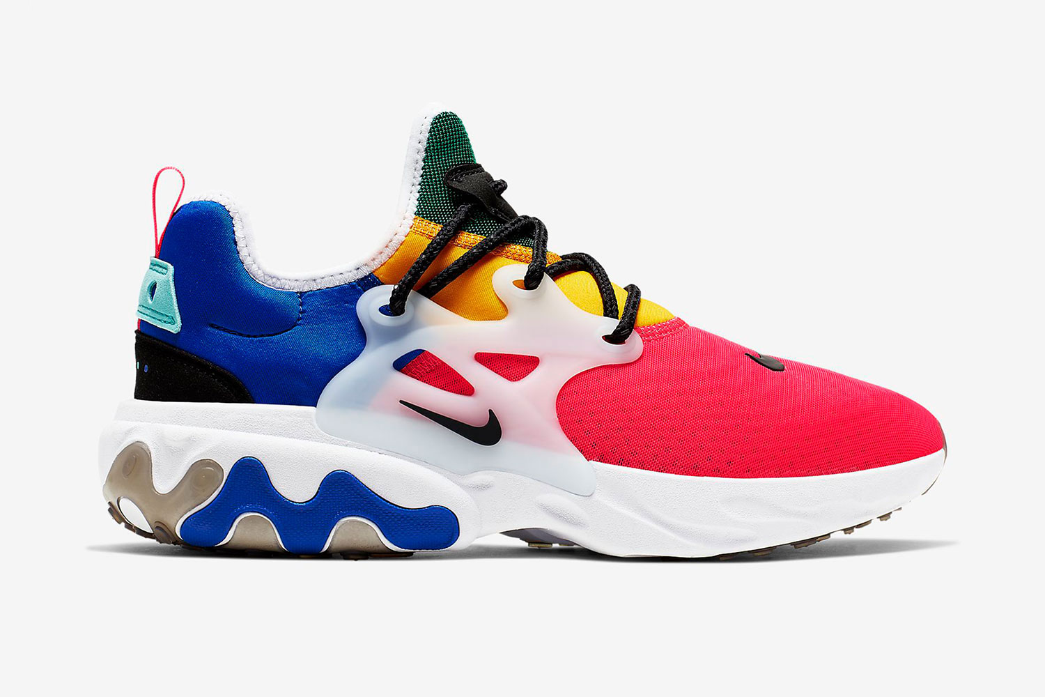 coser A veces crucero  Nike React Presto Track Red Racing Blue | HYPEBEAST