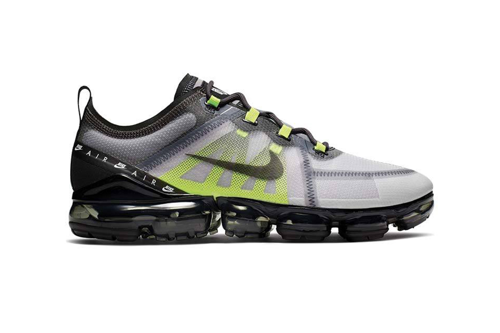 "Nike Vapormax 2019 LX ""Atmosphere Grey/BlackThunder/Grey Volt"" Release Information Sneaker Drop First Look Swoosh Air Max 95 ""Neon"" Inspiration Retro Colorway"