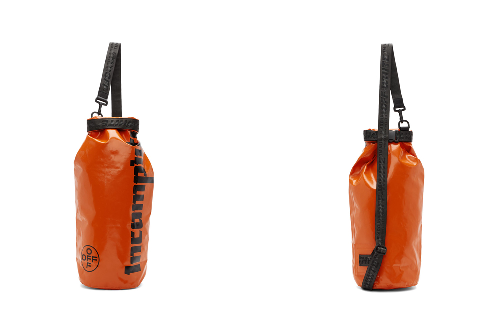 Off-White™ Orange Rolltop 'Incompiuto' Bag