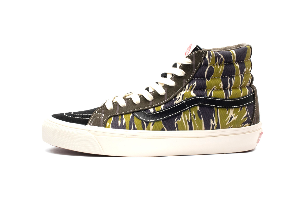 "Vans OG Sk8-Hi & Era LX Canvas ""Mixed Camo"" Pack release info price date drop 43 einhalb VN0A4BVBVYT1 VN0A4BVAVYT1 skateboarding lifestyle shoe casual"