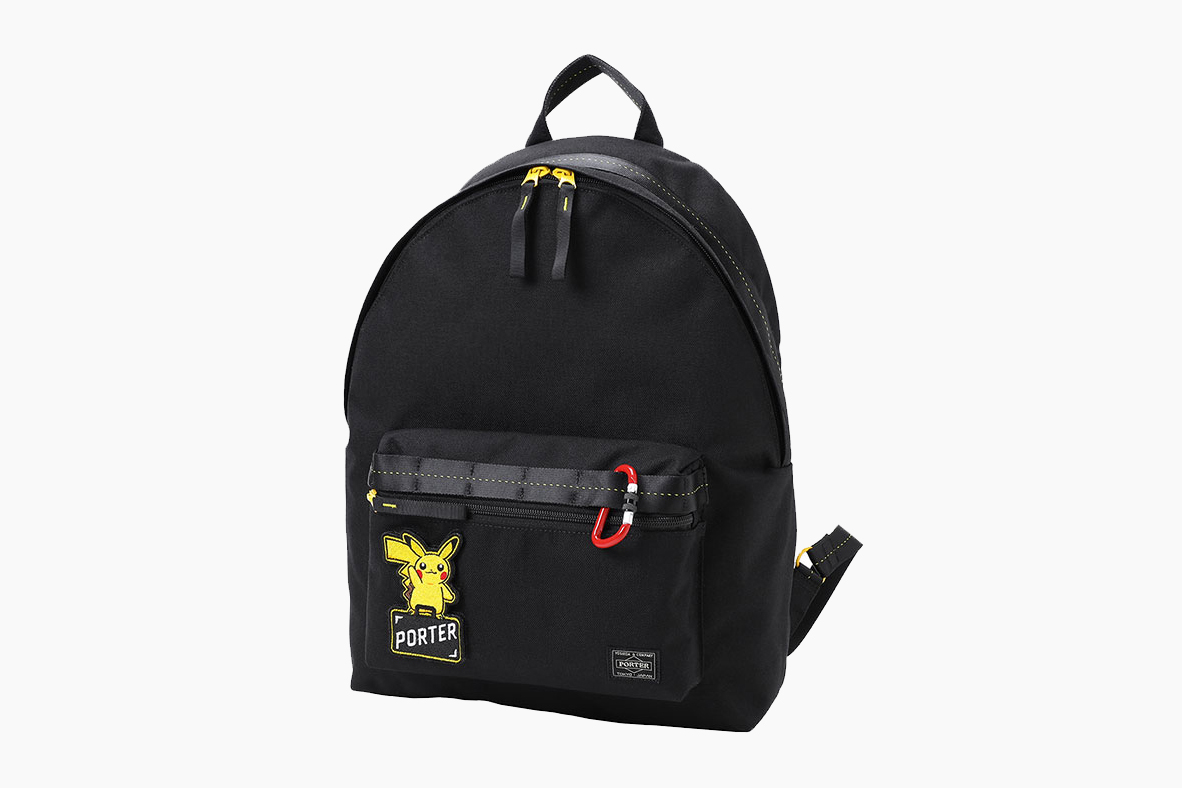 'Pokémon' x PORTER Pikachu Bag Collaboration