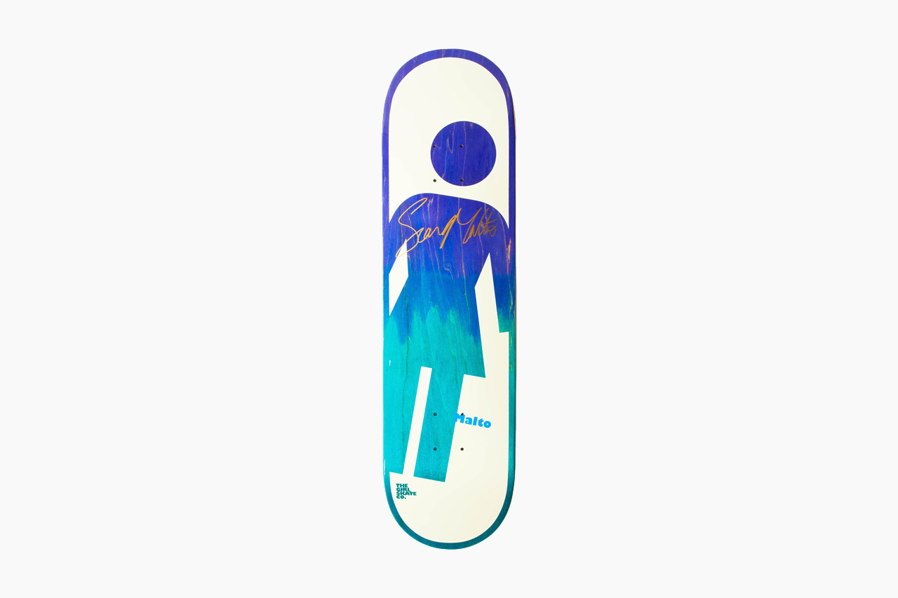 Sean Malto Signed Girl Board