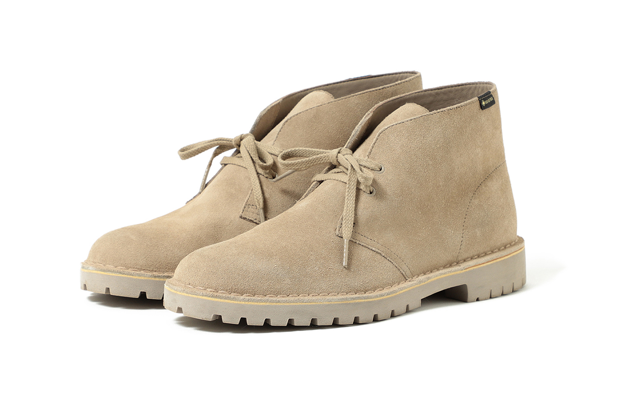 BEAMS x Clarks Originals Desert Rock GORE-TEX collaboration shoe october 2019 vibram drop buy colorway sand beige black