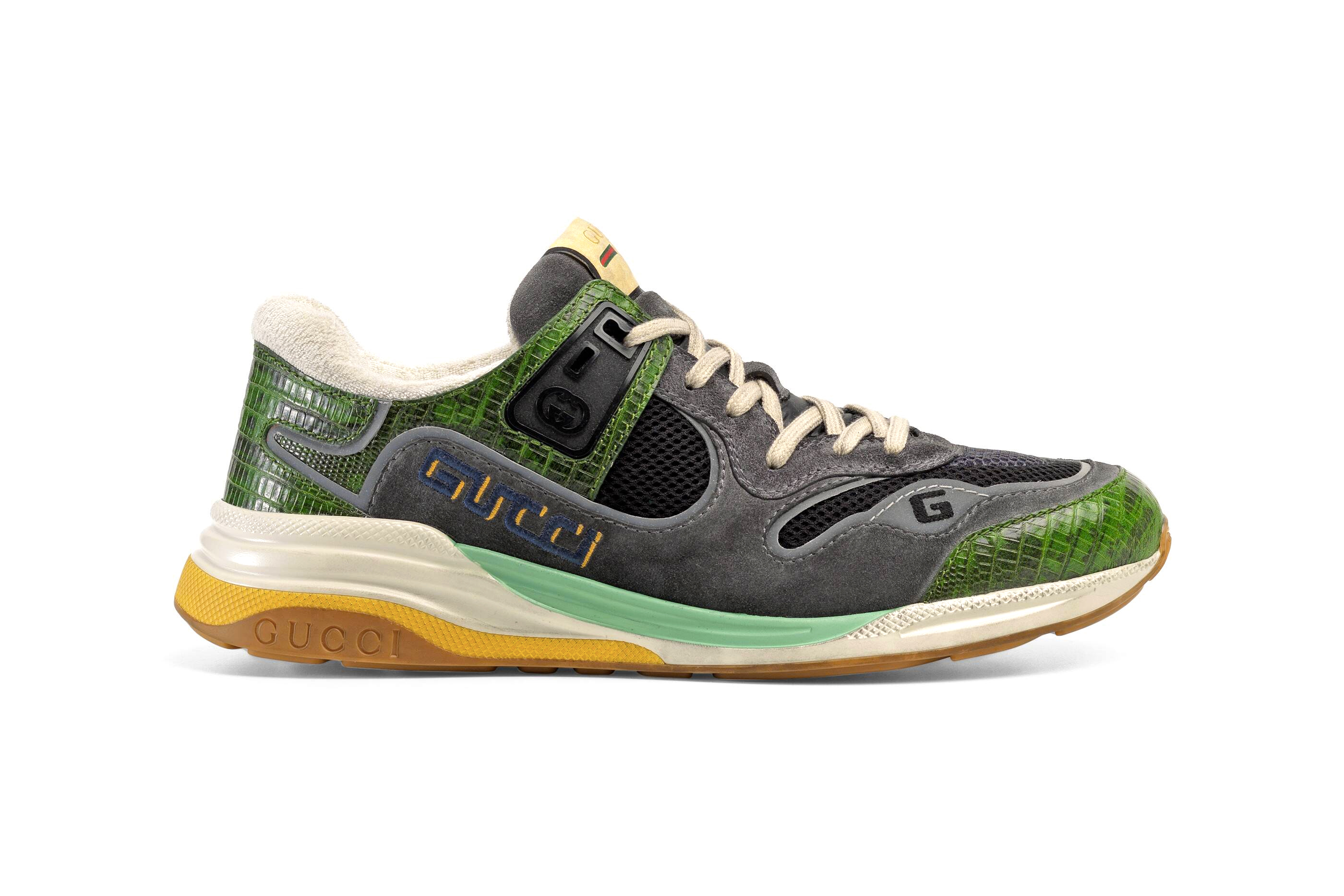 Gucci UltraPace Mixed-Material Sneaker