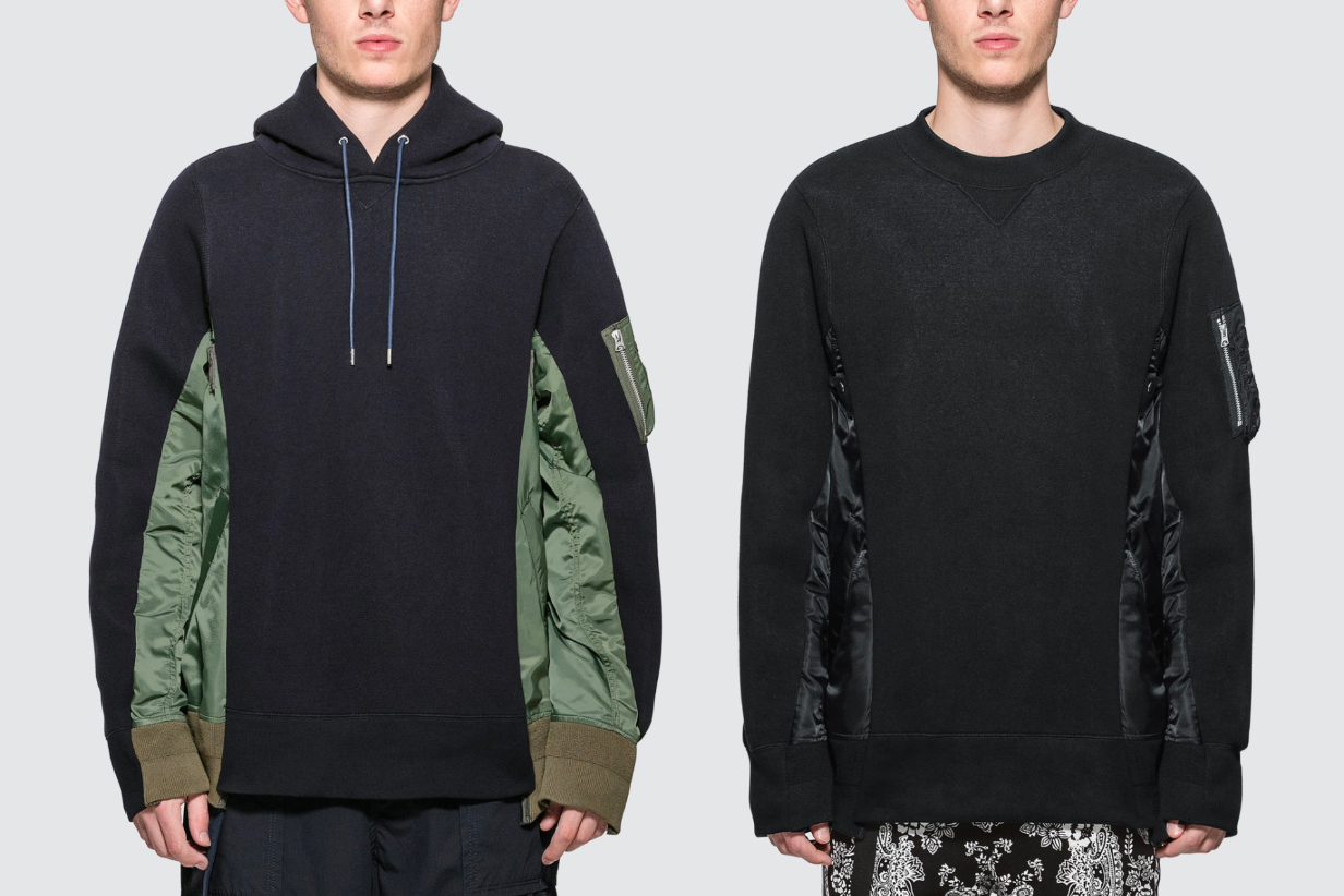 sacai MA-1 Sponge Sweat MA-1