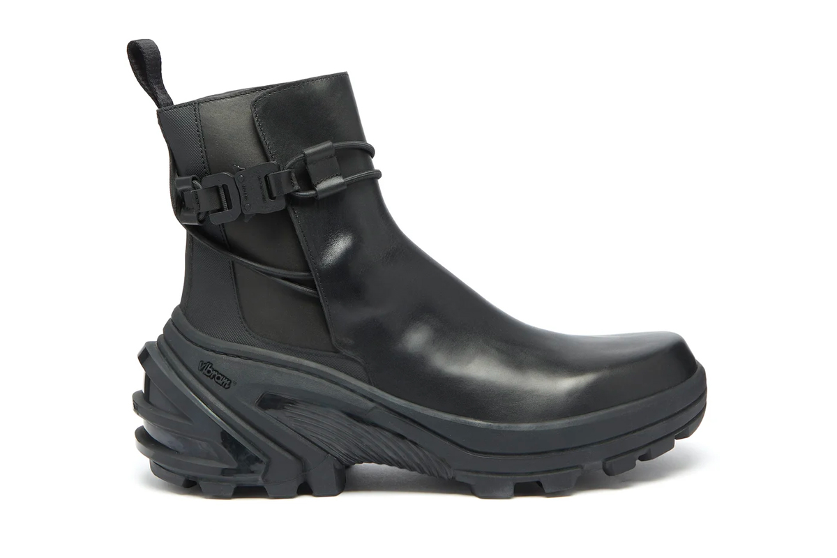 1017 ALYX 9SM Buckle Chelsea Boot Release Info Black Leather