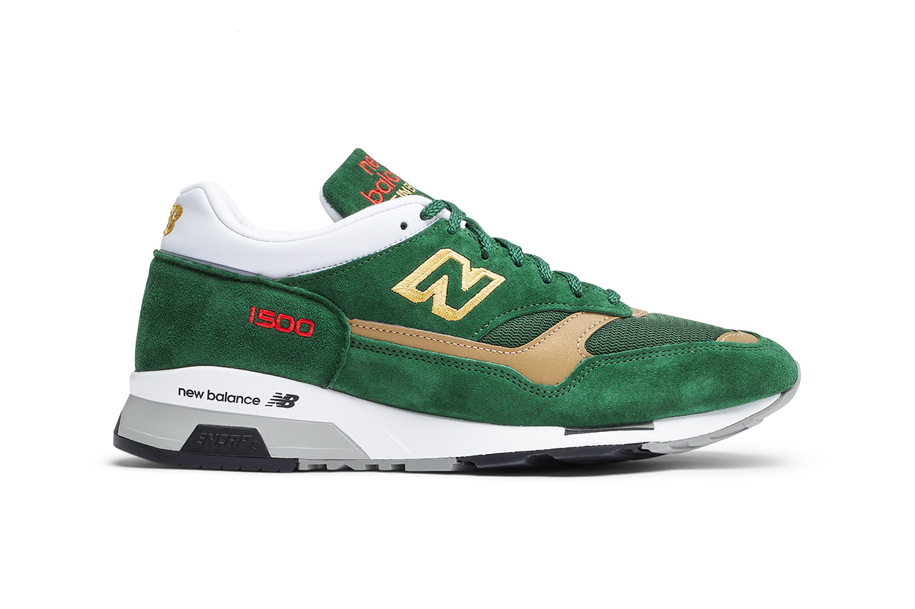 new balance 1500 athletic club bilbao green gold red la liga sneaker release information details buy cop purchase spain liverpool celtic football