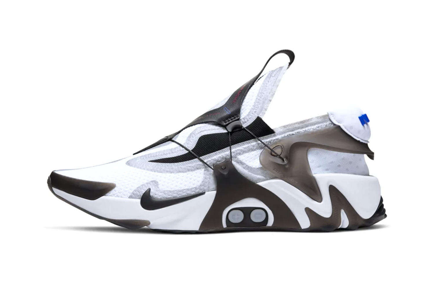 "Nike Adapt Huarache Air Huarache Official Images & Release Info ""White/Black"" ""Opti-Yellow"" power lacing footwear sneakers release app back to the future shoes"