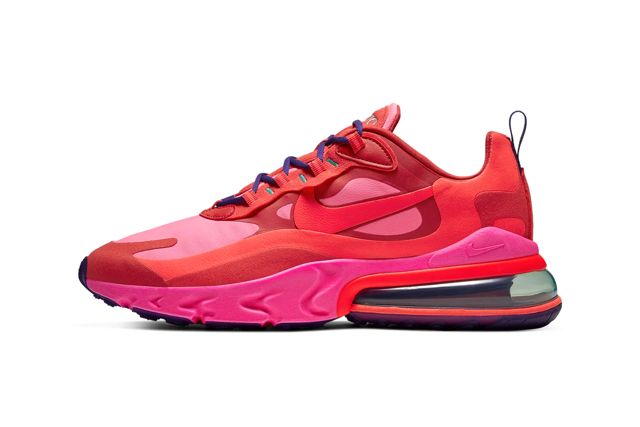 Nike Air Max 270 React Heavy Metal Release Hypebeast Drops