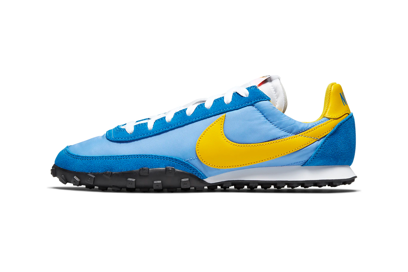 Nike Waffle Racer Battle Blue Release Info sneakers shoes university blue amarillo white black CN5449-400 1977 retro vintage