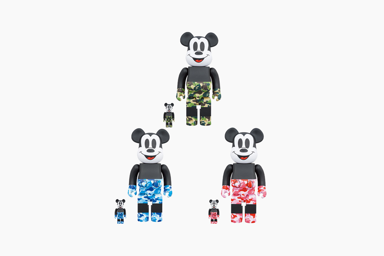 BE@RBRICK BAPE Mickey Mouse