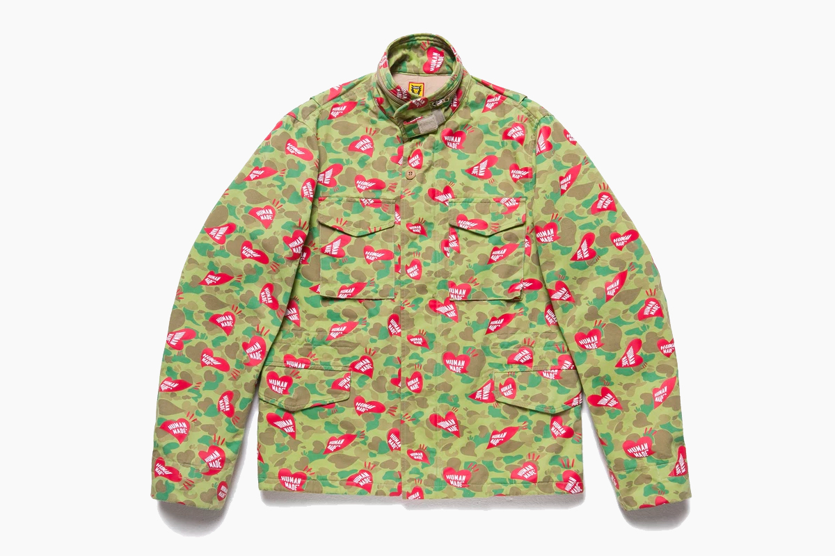 HUMAN MADE Heart Camo Field Jacket