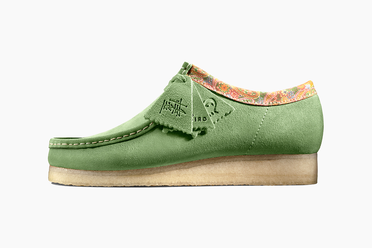 Stüssy x Clarks Originals Wallabee