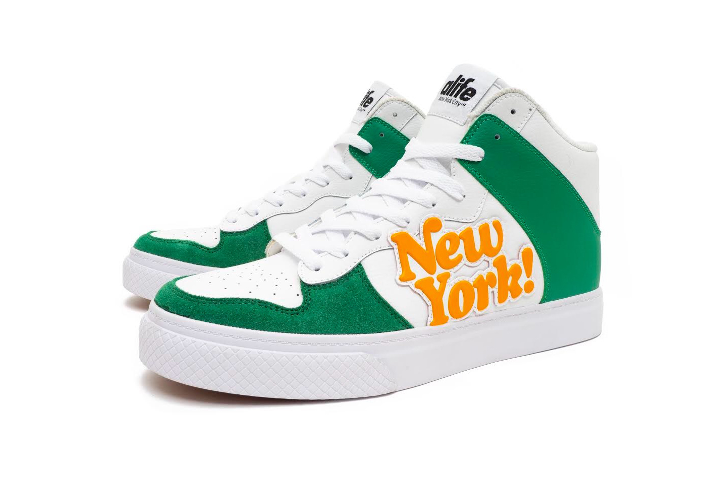 "Alife Everybody Hi ""NY!"" Release Info sneakers footwear green white orange"