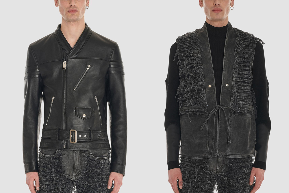 Blackmeans x 1017 ALYX 9SM Capsule, Leather Biker Jacket