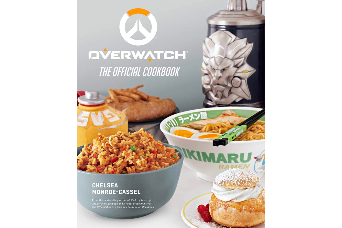Overwatch The Official Cookbook Release info Date Blizzard Recipes