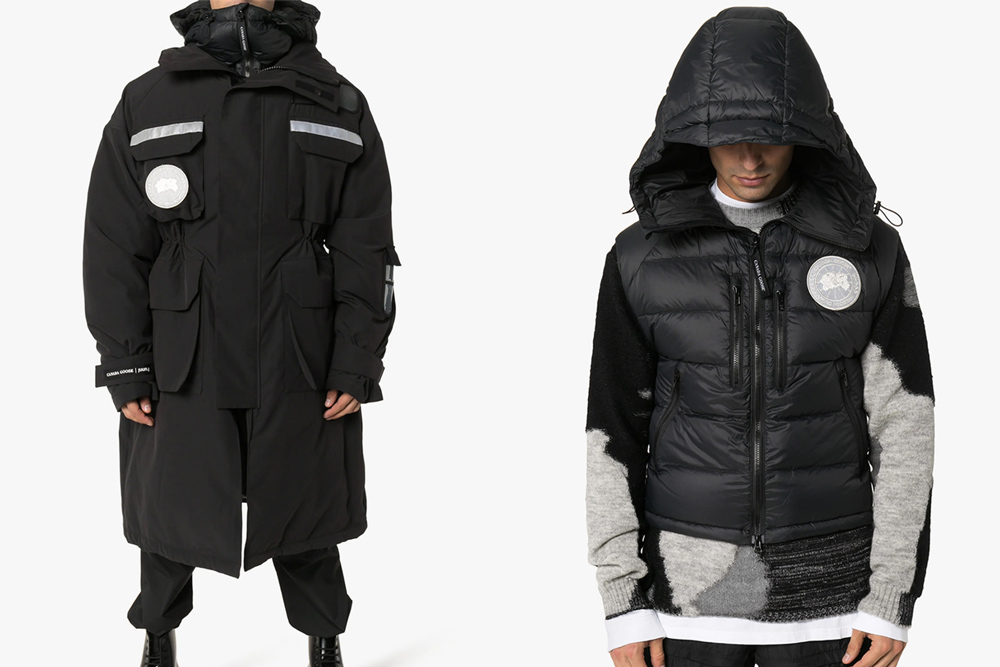JUUN.J x Canada Goose Resolute 3-In-1 Parka