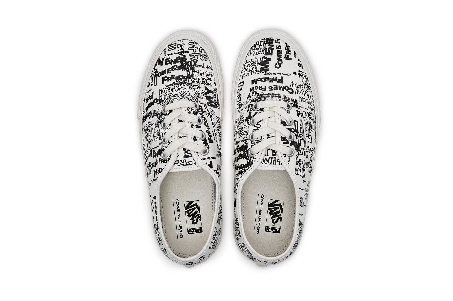 lower price with great quality various styles COMME des GARÇONS x Vans Authentic