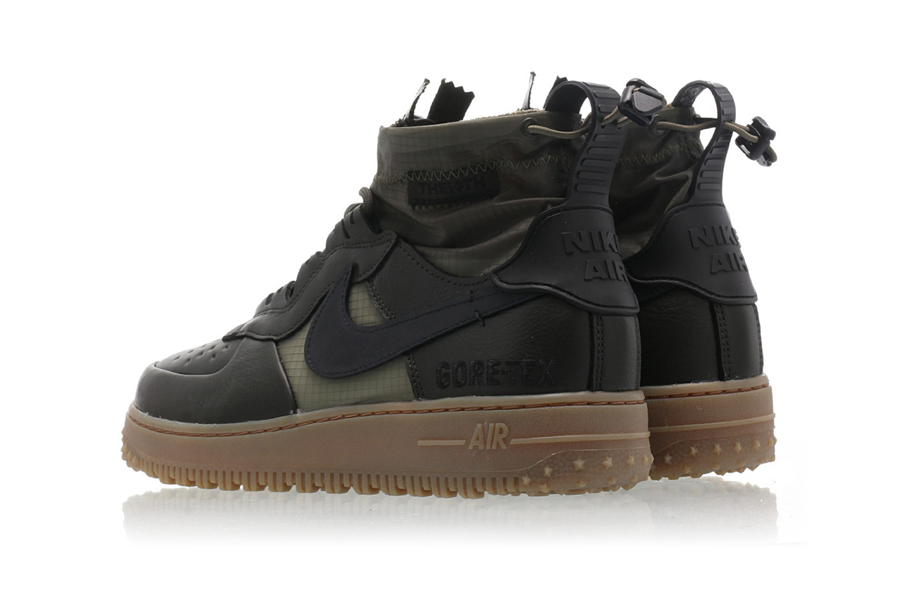 Nike Air Force 1 WTR Gore Tex 'Green' | CQ7211 300