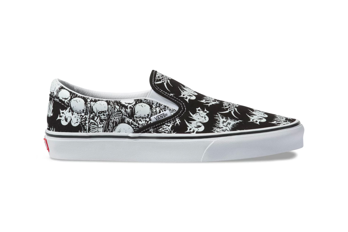 Vans Slip-On Forgotten Bones Release Info Date Black White