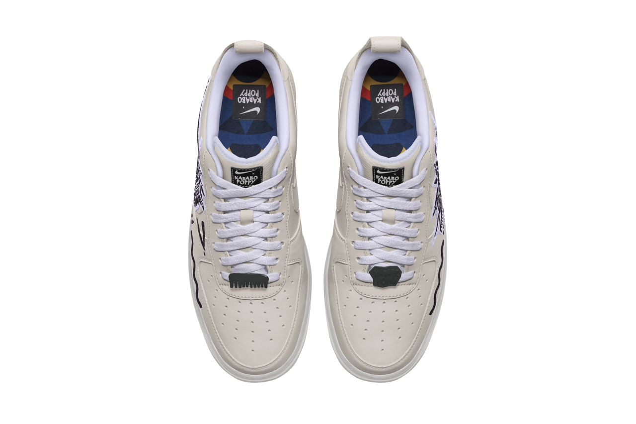 jefe vendedor repentino  Karabo Poppy Nike By You Air Force 1 Low Price | Drops | HYPEBEAST Shops