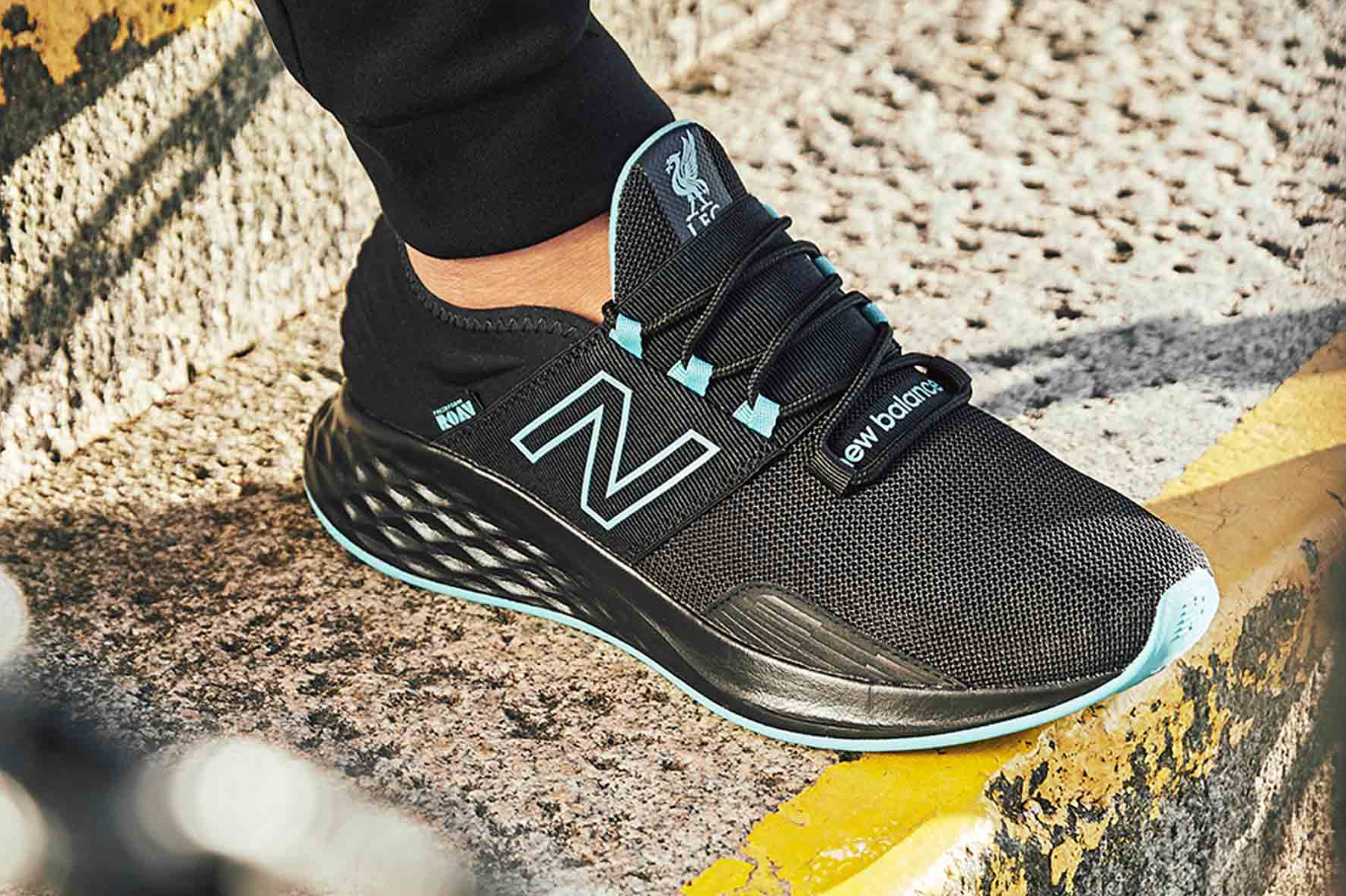 New Balance Limited Edition LFC Roav Trainer liverpool soccer football collaborations