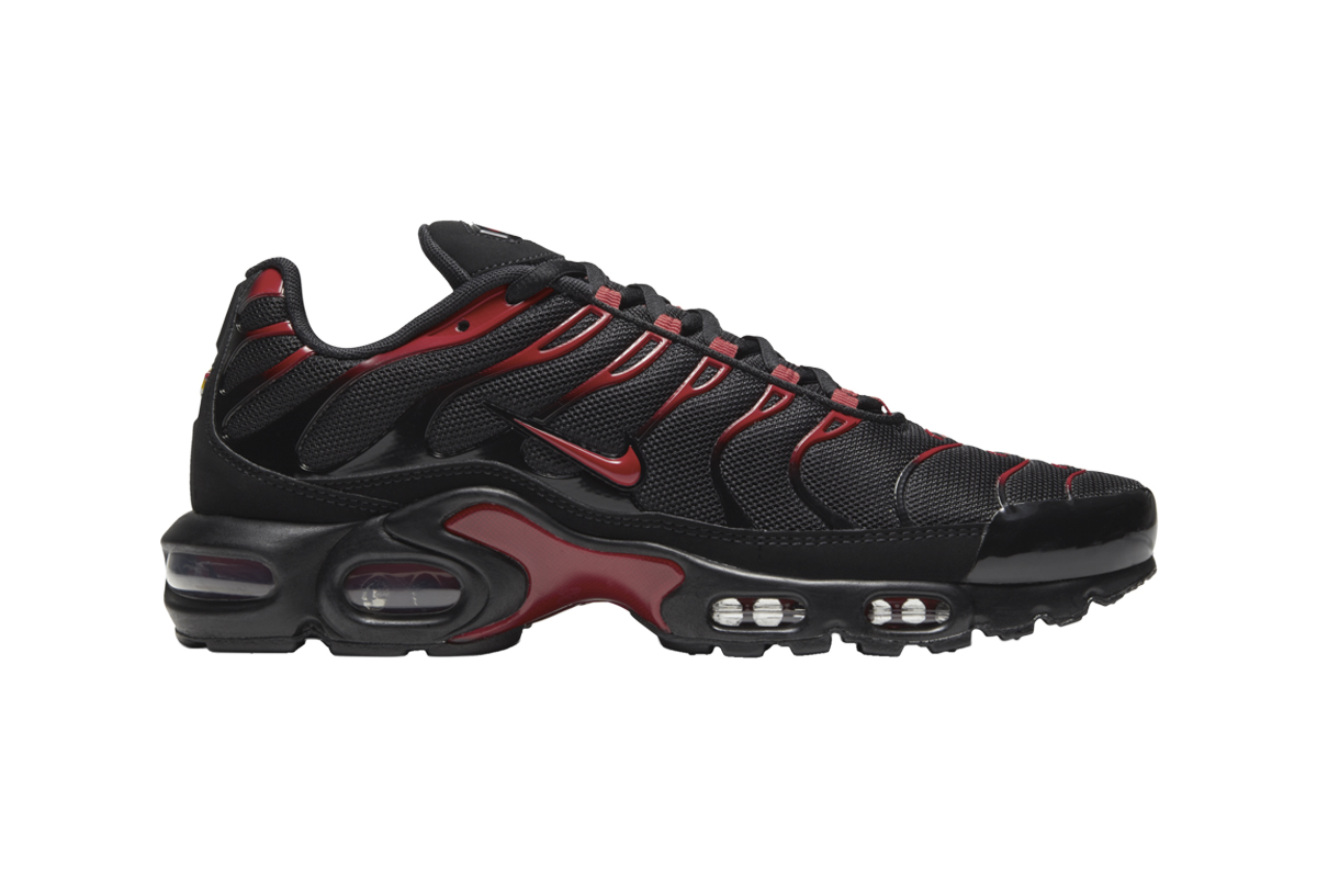 Nike Air Max Plus University Red Black Release info date Buy Gold
