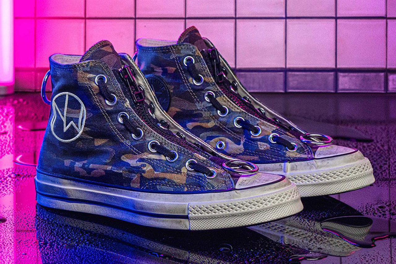 UNDERCOVER Converse Chuck Taylor All Star 70s THE NEW WARRIORS jun takahashi sneakers footwear shoes trainers runners camouflage distress streetwear japanese designer
