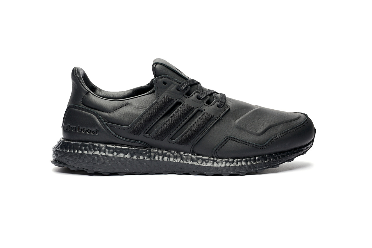 """adidas UltraBOOST Leather """"Ftwr White"""" """"Core Black"""" Release Information Sneakersnstuff Footwear Kicks Three Stripes Performance Running Continental Outsole First Look"""