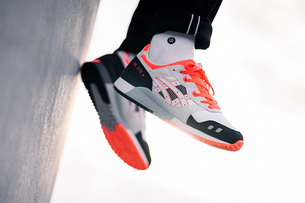 "ASICS GEL-Lyte III OG ""White/Red"" Info and Pricing Citrus 30th anniversary edition"