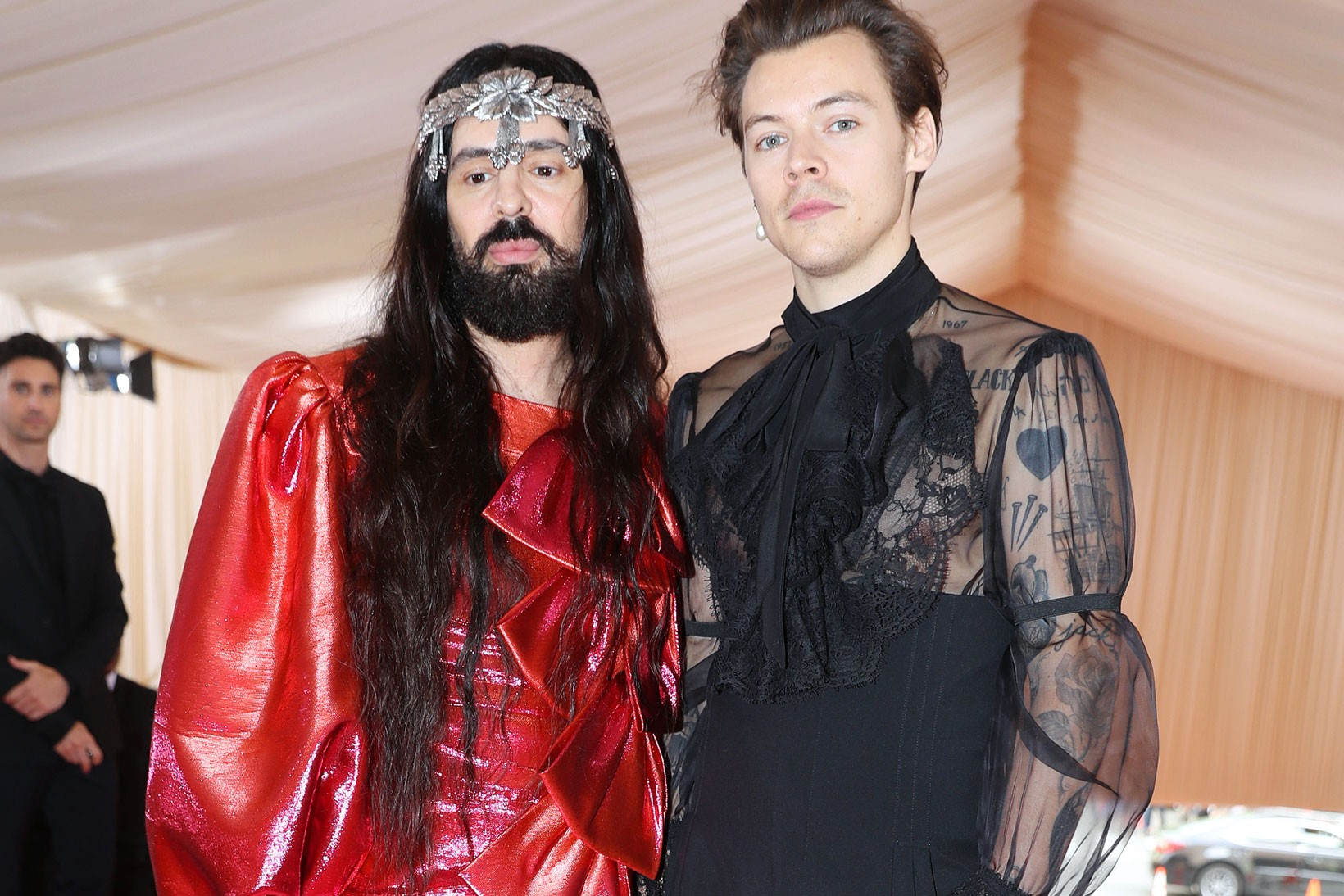 Harry Styles & Alessandro Michele 'Fine Line' Tee exclusive collaboration gucci music albums where to purchase buy