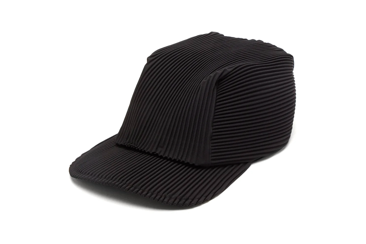 HOMME PLISSÉ ISSEY MIYAKE Technical Pleated Cap Release Matchesfashion caps hats accessories pleats pleating